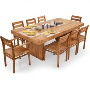 Shagun Arts - Jordan- 8 Seater Dining Table Set