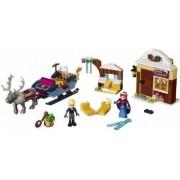 Anna og Kristoffers slædeeventyr (Lego 41066 Disney Frost / Frozen)