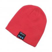 Capac bluetooth piros - Ascultă muzică cu ușurință iarna.