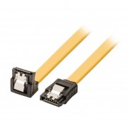 Valueline haakse vergrendelbare SATA kabel 1m