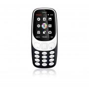 EY Samgle 3G 3310 Teléfono Móvil 3D De 2,4 Pulgadas Pantalla Curvada De RAM 64 MB + 128 MB De ROM-negro