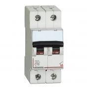 BTicino Interruttore Magnetotermico Bticino 2p C10 2 Moduli 4500a