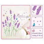TipTop Wall Stickers Romantic Lavender Theme