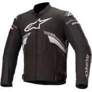 Alpinestars T-GP Plus V3 Chaqueta textil para motocicletas Negro Gris Blanco XL