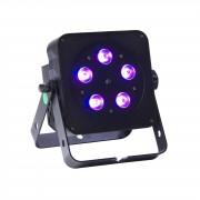 lightmaXX FLAT PAR TRI 5x3W TRI, negro, IR Remote