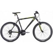 "Bicicleta MTB Leader Fox Evolution 2015, Cadru 18"", Roti 26"" (Gri)"