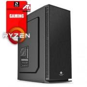 A-Comp Iggo, AMD Ryzen 5 1500X/4GB/HDD 2TB/RX 550 2GB/DVD