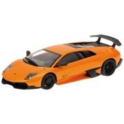 2009 Lamborghini Murcielago LP 670-4 SV in Orange Diecast Model Car in 1:43 Scale