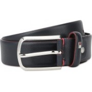 Tommy Hilfiger Men Casual Red, Blue Genuine Leather Belt