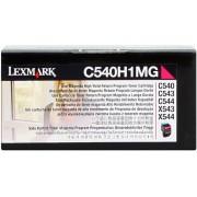 Lexmark Tóner magenta Original C540H1MG