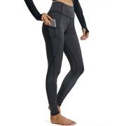 FITTOO Leggings Mallas Mujer Pantalones Deportivos Yoga Alta Cintura Elásticos y Transpirables 1160#2 Negro Chica