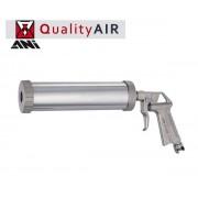 Pistola/Erogatore per sigillanti/silicone/mastice in cartuccia pneumatica/aria compressa corpo in metallo Ani - A/525