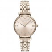 Armani orologi Ar11059 Rose Gold Stainless Steel Ladies Watch