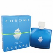 Chrome Under The Pole For Men By Azzaro Eau De Toilette Spray 3.4 Oz