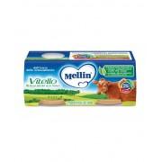 Mellin Omogeneizzati Carne Vitello 4x80g