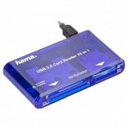 Leitor de Cartões 35 em 1 Hama USB 2.0