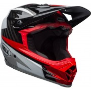 Bell Full-9 Downhill Casco Gris/Rojo M (55-59)