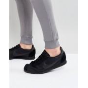 Nike Черные нейлоновые кроссовки Nike Classic Cortez 807472-007 - Черный