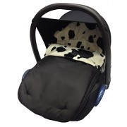 For-your-Little-One Animal Print Car Seat Footmuff / Cosy Toes Compatible with Maxi Cosi Cabrio/Pebble - Cow