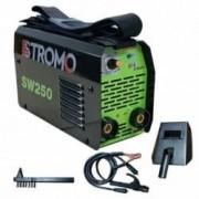 Aparat de sudura Invertor STROMO SW 250 250 Ah Electrod 1.6- 4mm Accesorii incluse