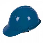 Casque de chantier Bleu