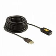 Hosszabbító Kábel DELOCK 82446 USB 2.0 10 m