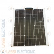 Pannello Solare Fotovoltaico 50W 12V Flessibile Monocristallino Camper Barca