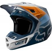 FOX V2 Murc Capacete de motocross Cinzento S