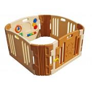 Plastová detská vysokorýchlostná zábradlie s panelom na hranie (a slučke, montáž za 5 minúzrkadlo, dvere nt)