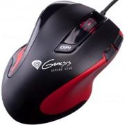 Mouse Natec Genesis GX68 black-red