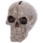 Geen Spaarpot bling schedel 12 cm