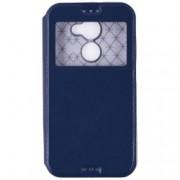 Husa Vodafone Smart N8 Flip IceEvo Albastru