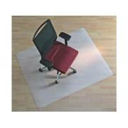 Tappeto salvapavimenti quadrato BSM opalino trasparente in PPL 130x120 cm 01-1300