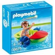 Комплект Плеймобил 6675 - Дете с лодка - Playmobil, 291218