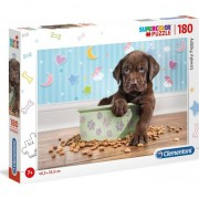 Puzzle Clementoni SuperColor: Lovely Puppy, 180 piese