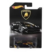 Hot Wheels Lamborghini Sesto Elemento Glossy Black With Yellow Interiors Toy Car