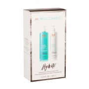 MoroCCanoil Hydration 500 ml sada šampon 500 ml + kondicionér 500 ml pro ženy