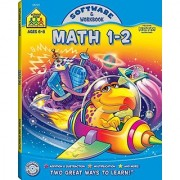 School Zone Publishing Math 1-2 Software And Workbook