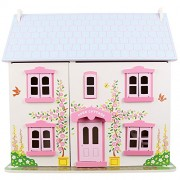 Bigjigs Toys JT101 Heritage Playset Rose Cottage