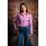 Camasa femei office Melinda pink