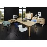 24Designs TV-Meubel Haslund 1 Deurs/1 Lade - 150x45x50 - Eiken