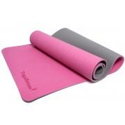 Екологична Постелкa за Йога с Подарък Чанта (Розова)