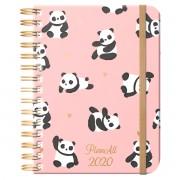 Panda, B5 heti beosztású spirálos tervező naptár, PlanAll 3.0
