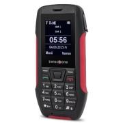"""Doro SX 567 1.7"""" 99g Nero, Rosso Telefono di livello base"""