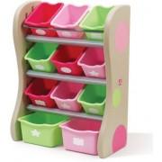 Step 2 Toy rack arrangör rosa - Steg 2 Förvaring barnmöbler 82