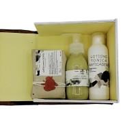Set cadou produse naturale de ingrijire capilară BARBATI-3 produse