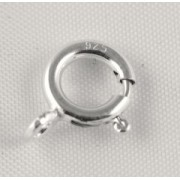 Incuietori Simple 7mm, Argint 925