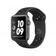 Умные часы APPLE Watch Series 3 Nike+ 38mm Space Grey Aluminium Case with Anthracite-Black Nike Sport Band MTF12RU/A