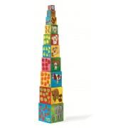 Turn de construit Djeco Copac
