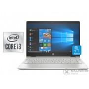 Notebook HP Pavilion x360 14-DH1001NH 8FG17EA#AKC , auriu + Windows10 (tastatura HU)